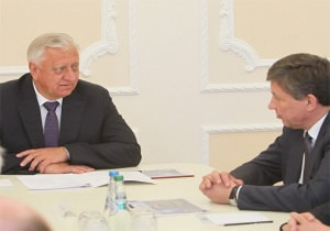 Встреча Мясниковича и главы Роскосмоса