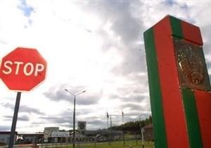 Забор на границе Польши и Белоруссии