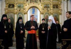 Ватиканский кардинал прибыл в Минск