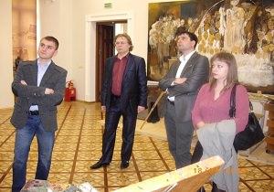 Культурная делегация Беларуси посетила Украину