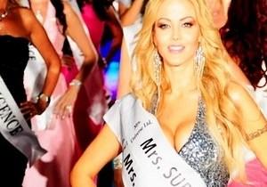 Миссис Вселенной-2013 стала белоруска