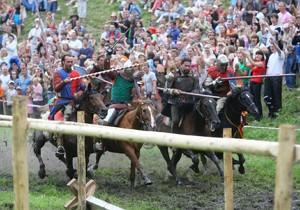 Рыцарский фестиваль в Новогрудке