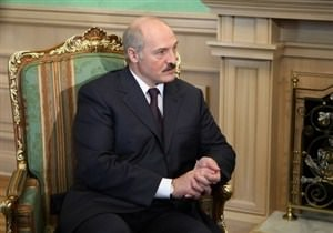 В  резиденции Лукашенко золотые люстры