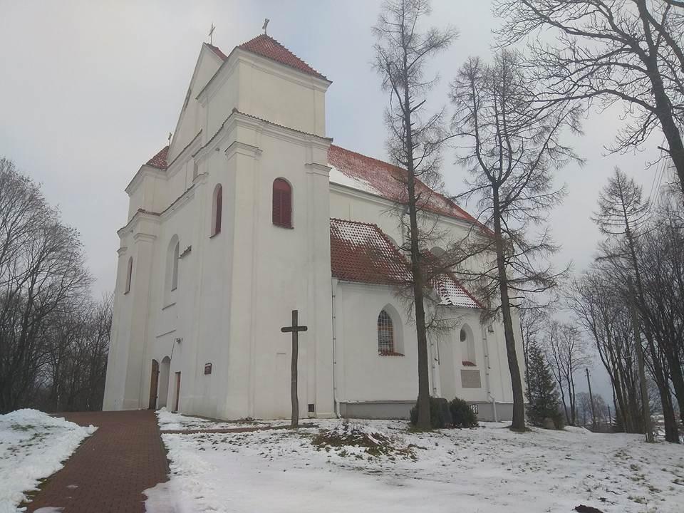 Каталическая церковь в Новогрудке.