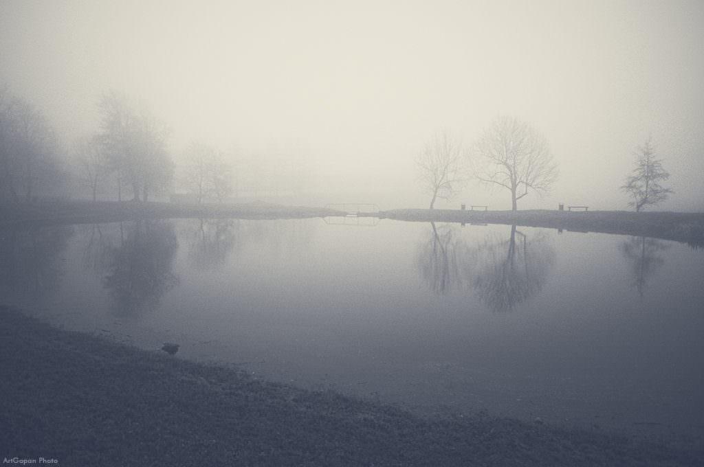 Озеро в Новогрудке.