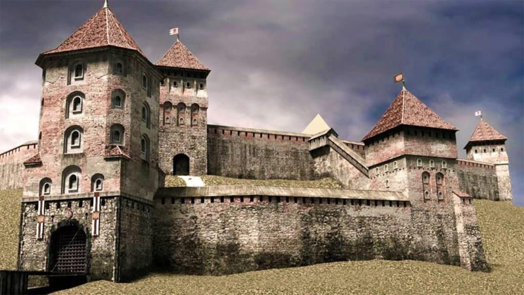 Как бы выглядел бы новогрудский замок.